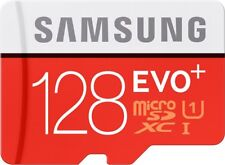 Samsung 128gb EVO Plus 80mb/s MicroSD SDXC Uhs-i Class 10 Memory Card