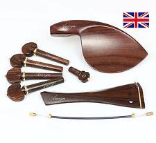 Conjunto de accesorios para violín de mejor calidad de palo de rosa
