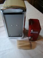 COKE - COCA COLA - NAPKIN AND TOOTHPICK HOLDER - NEW NEVER USED BUT DISPLAYED