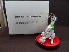 Disney Grolier 101 Dalmatians Christmas Ornament w/Box  26231 105