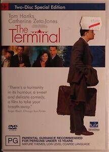 The Terminal DVD - Tom Hanks - Free Post