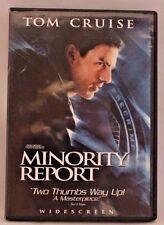Minority Report (2-Disc Dvd Widescreen) Tom Cruise Colin Farrell Samantha Morton