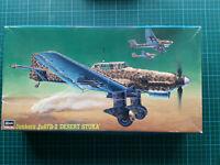 """Hasegawa 1:48 Junkers Ju 87B-2 """"Desert Stuka"""" JT16"""