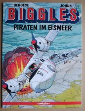 Biggles, Band 2 Piraten im Eismeer    Comic  Oleffe Loutte Johns