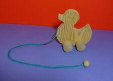 Nachziehtier Holz Ente Spielzeug