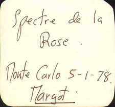 margot fonteyn signed small card to a friend !