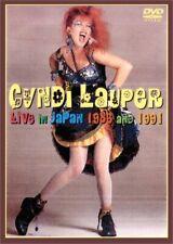 Cyndi Lauper /  1986+1991 Live in Japan  DVD