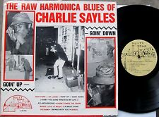 THE RAW HARMONICA BLUES OF CHARLIE SAYLES LP - Dusty Road Records LP 701 Produce