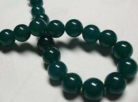 "New 8mm Green Beryl Gemstone Round Loose Beads 15""JL27"