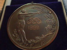 1968 MEXICO OLYMPIC GAMES VERY RARE MEDAL X 2 the bronze one, I have never seen