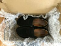 Men's Birkenstock Black Suede Loafers
