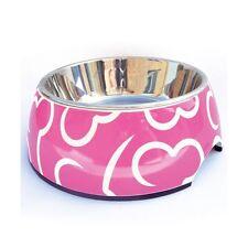 DOGIT 2-in-1 Hundenapf Pink Bones