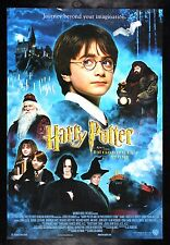 HARRY POTTER AND THE SORCERERS PHILOSOPHERS STONE CineMasterpieces MOVIE POSTER