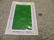 Microscale  decals 1/72 1/48 1/32 Trim Film TF-17 Emerald Green    C33