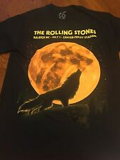 The Rolling Stones Mick Jagger Autographed Carter-Finley Stadium T-Shirt