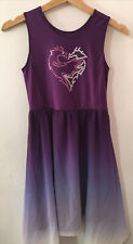 Disney Descendants 3 Mal Girl's Dress 10-12 Purple