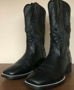 Ariat Solado Venttek Men's 12 Wide Black Western Boot 10027203