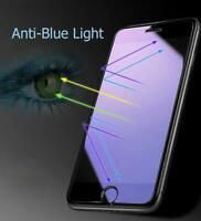 Anti Blue Light Tempered Glass Screen Protector For iPhone 5 6 7 8 Plus X XS Max