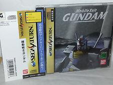 MOBILE SUIT GUNDAM USATO OTTIMO SEGA SATURN EDIZIONE JAPAN NTSC/J VBCJ 53012
