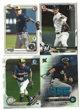 BRICE TURANG 2020 BOWMAN 1st EDITION #BFE-35 + 2018 BOWMAN + 2019 BOWMAN CHROME