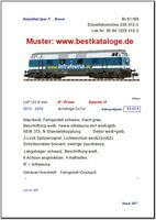 2017 Datenblatt Brawa Spur N 5 Stück Lokomotiven Güterwagen Personenwagen