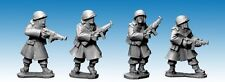 Artizan Designs - SWW354 - US INFANTRY IN GREATCOATS with SMG for Bolt Action