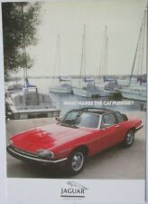 Pack of 15 New Vintage Ad Gallery Postcards: No 159 Jaguar XJS Cabriolet 1984