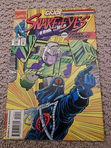 GI Joe A Real American Hero #140 (1993) Marvel Transformers Gen 2 VF cond