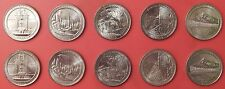 Brilliant Uncirculated 2010 5P & 5D US National Parks 25 Cents From Mint's Rolls