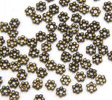 150 Filigran Metallperlen Rund 6mm Gold Zwischenperlen Spacer BEST M62