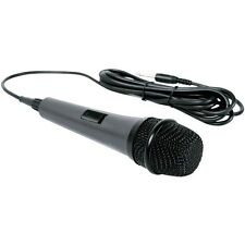 The Singing Machine Smm-205 10-ft Unidirectional Microphone for Karaoke