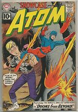 Showcase #35 (Presents the Atom) DC 1961 Silver Age Comic FN/FN+ (2nd App.)