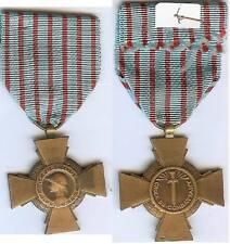 Médaille - Croix du combattant 6 poinçon arg ? BR VERDUN 14/18
