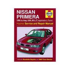 Nissan Primera Haynes Manual 1990-99 1.6 2.0 Petrol Workshop