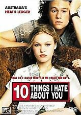 10 THINGS I HATE ABOUT YOU    DVD   R4    HEATH LEDGER   LIKE NEW