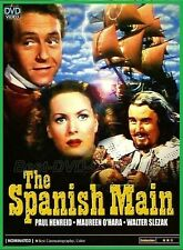 The Spanish Main (1945) - Paul Henreid, Maureen O'Hara - DVD NEW