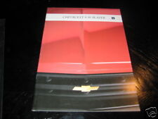 Prospekt Chevrolet Blazer S-10 / S10 / S 10 von 1992