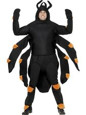 "Halloween Mens Spider Tarantula Fancy Dress Costume 38-42"" New by Smiffys"