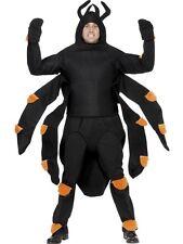 Halloween Herren Spinne Tarantula Maskenkostüm 96.5-107cm Neu von Smiffys