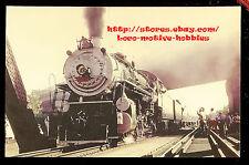 LMH Postcard SOUTHERN Railway 2-8-2 Mikado SOU #4501  Passenger Excursion 1960's