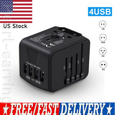Travel Plug Adapter Electric Outlet International Universal Power US/EU/UK/AU