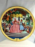 Bradford Excchange Wizard of Oz Road to Oz Greeting Dorothy Collectible Plate FS