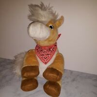 Plush Hallmark Story Buddy Cassidy Horse Pony Interactive No Book, Works VG O