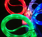 GLOW LED Light Data Sync Charger Charge Power Cable for iPhone 6/5/4/micro usb E
