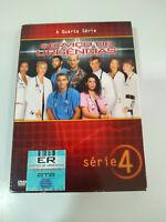 Urgencias Cuarta Temporada 4 Completa - 3 x DVD Español Ingles - 2T