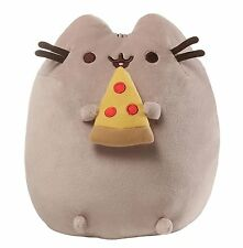 Pusheen the Cat-Pusheen avec pizza Plush Soft Toy * Brand New *