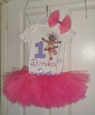 Girl first 1st birthday outfit Tutu Upsy Daisy in the night garden personalised