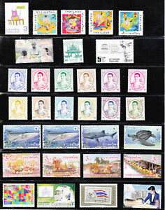 Thailand  2019 MNH Complete set all issues