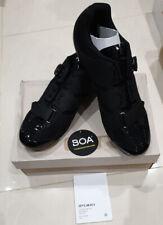 Giro Savix Men's Road Cycling Shoes Black Size UK12 EU47 New Boxed