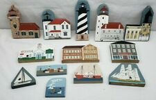 Cat's Meow Waterfront 4Pc Lighthouse Series 4Pc Accessory 5Pc Decorative Pieces